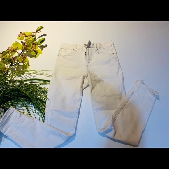Garage White Jeans Size 5